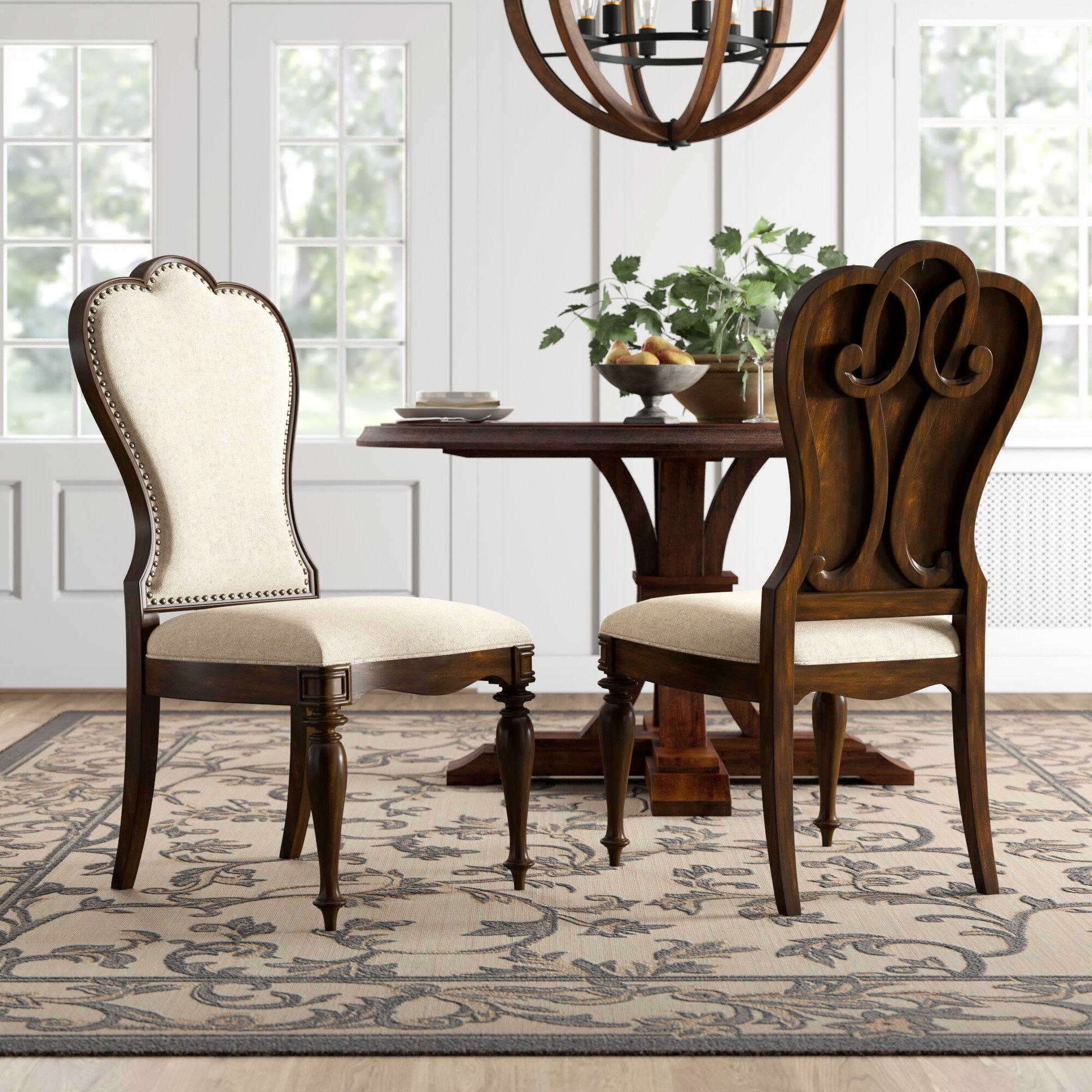 Hooker Furniture Leesburg Upholstered Dining Chair In Cream Reviews Wayfair