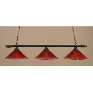Red Barrel Studio Sloan 3-Light Pool Table Light