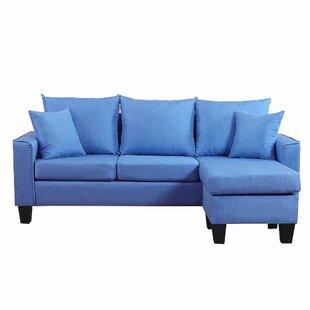 Janna 73 Reversible Sofa  Chaise
