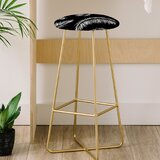 Palm Leaves 30 Bar Stool by East Urban Home