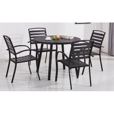 Gallien Modern Contemporary 5 Piece Dining Set by Wrought Studio Great Reviews