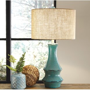 Coastal table lamps youll love wayfair germain 295 table lamp mozeypictures Images