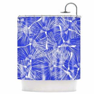 Palmtree Chinoiserie Single Shower Curtain