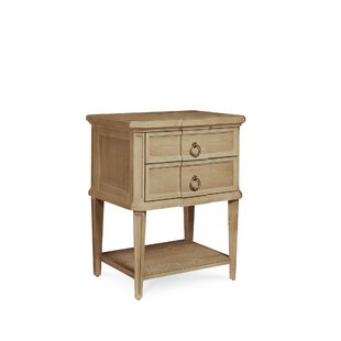 Carrie 2 Drawer Nightstand
