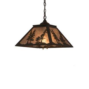 Millwood Pines Fairwinds Tall Pines 2-Light Novelty Pendant