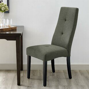 Lakeside Upholstered Dining Chair Charlton Home