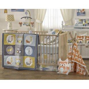 Woods 4 Piece Crib Bedding Set