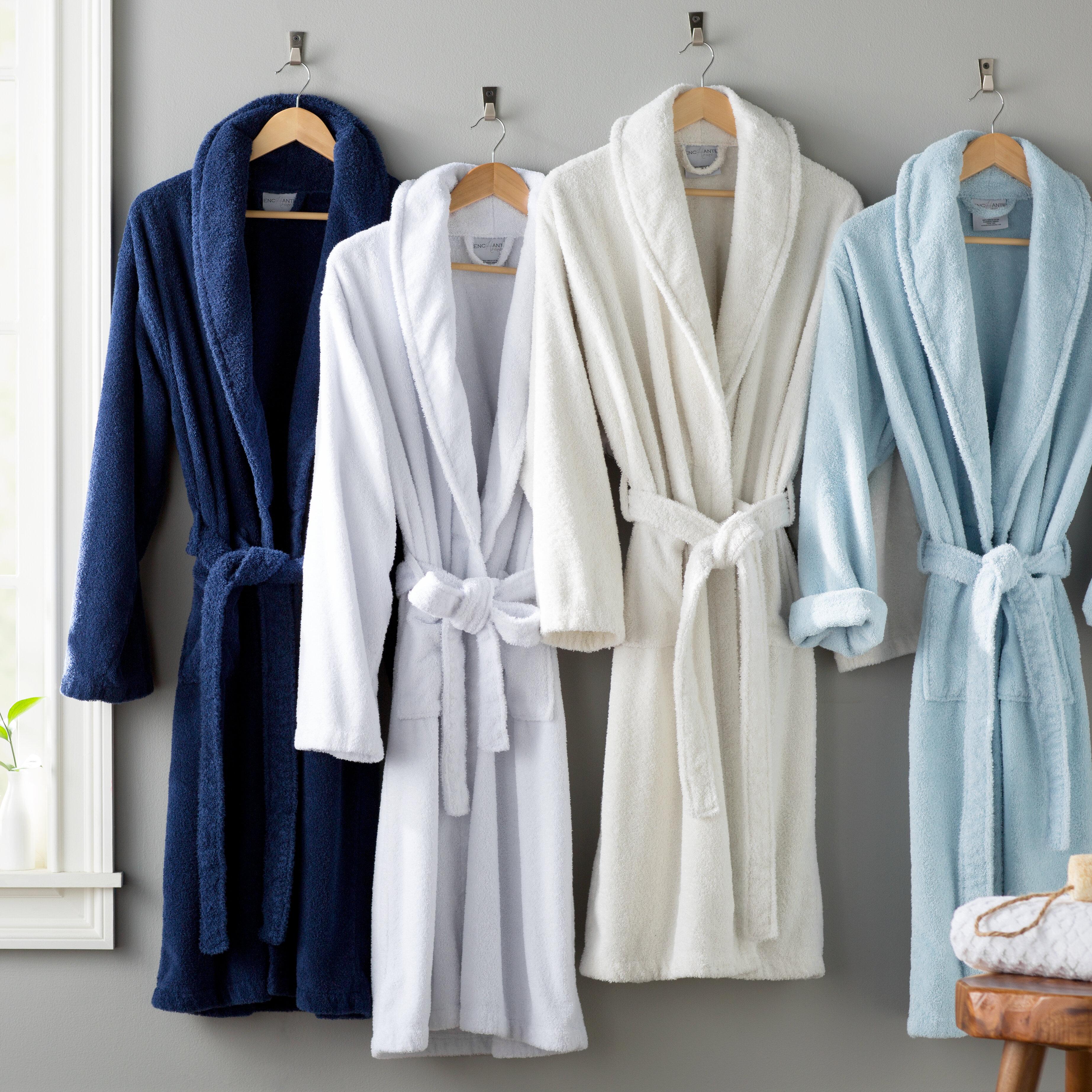 The Twillery Co Burroughs Kimono 100 Turkish Cotton Terry Cloth Bathrobe Reviews Wayfair