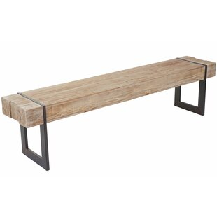 Dighton Solid Wood Bench By Alpen Home