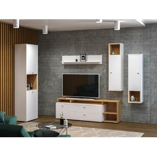Review Milagros TV Stand For TVs Up To 70