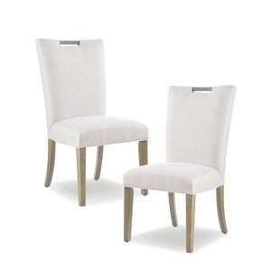 Gracie Oaks Sledmere Upholstered Dining Chair (Set of 2)