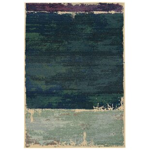 Expressions Abstract Green Area Rug by Pantone Universe