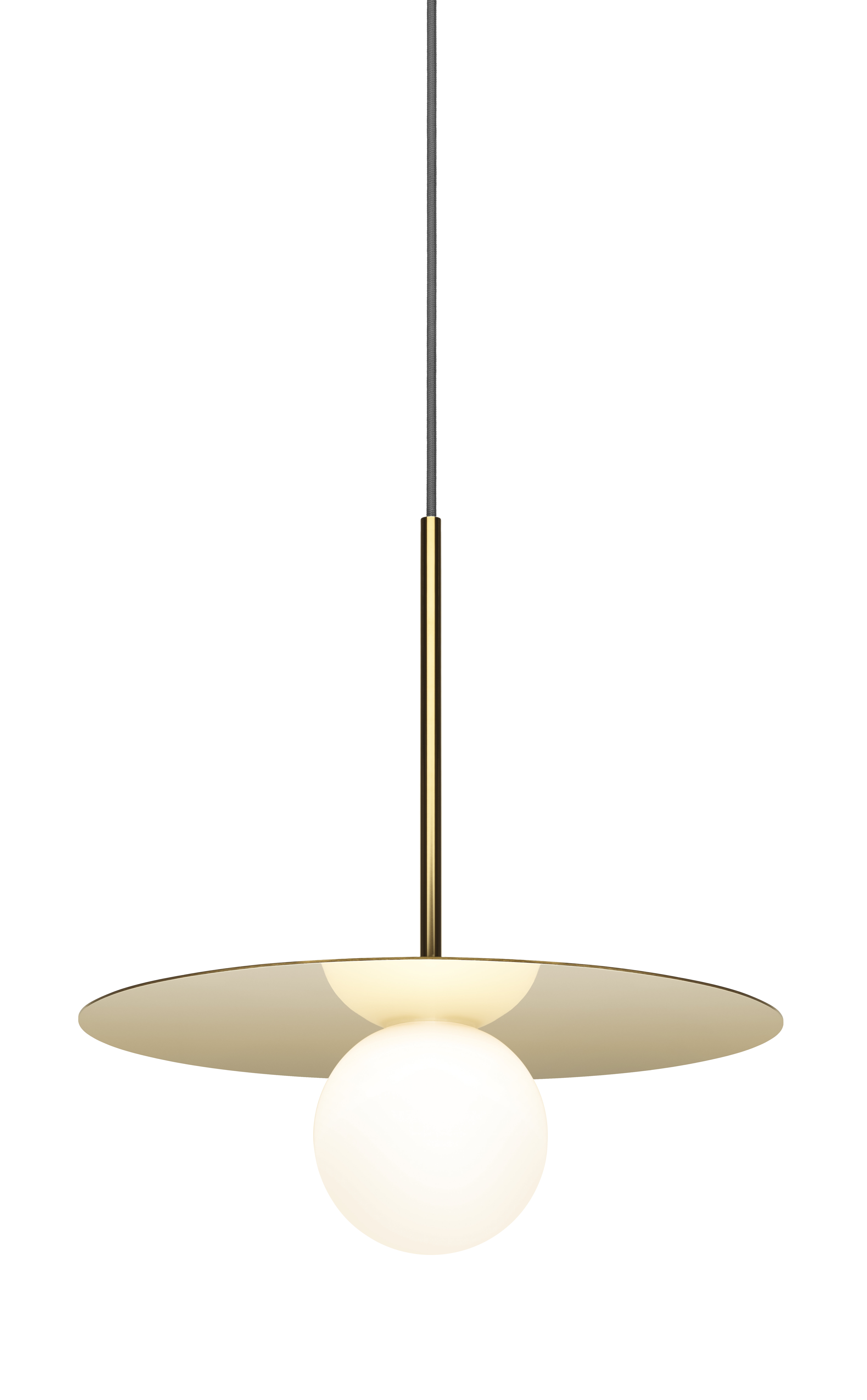 b9fe22227 Bola Disc 1-Light LED Geometric Pendant | AllModern