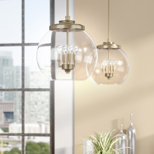 Buy luxury Maria 4-Light Chandelier By Langley Street