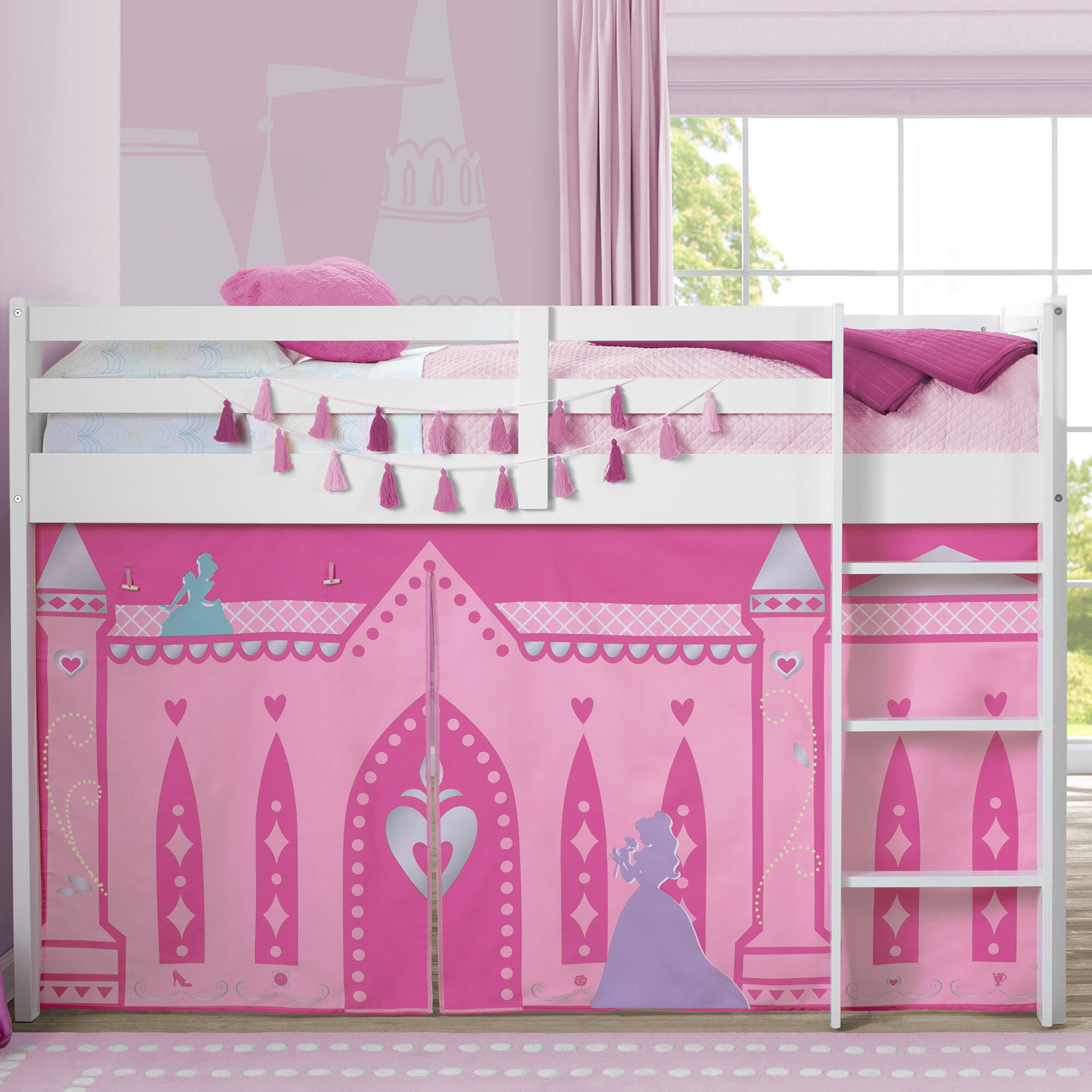 Delta Children Disney Princess Bunk Bed Accessories Reviews Wayfair