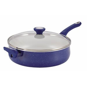Ceramic Cookware 5 Qt. Saute Pan with Lid
