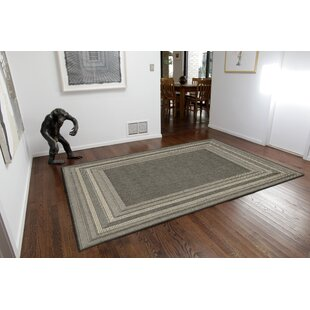 Clatterbuck Etched Gray/Beige Indoor/Outdoor Area Rug