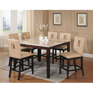 Red Barrel Studio Humberto 7 Piece Counter Height Dining Set