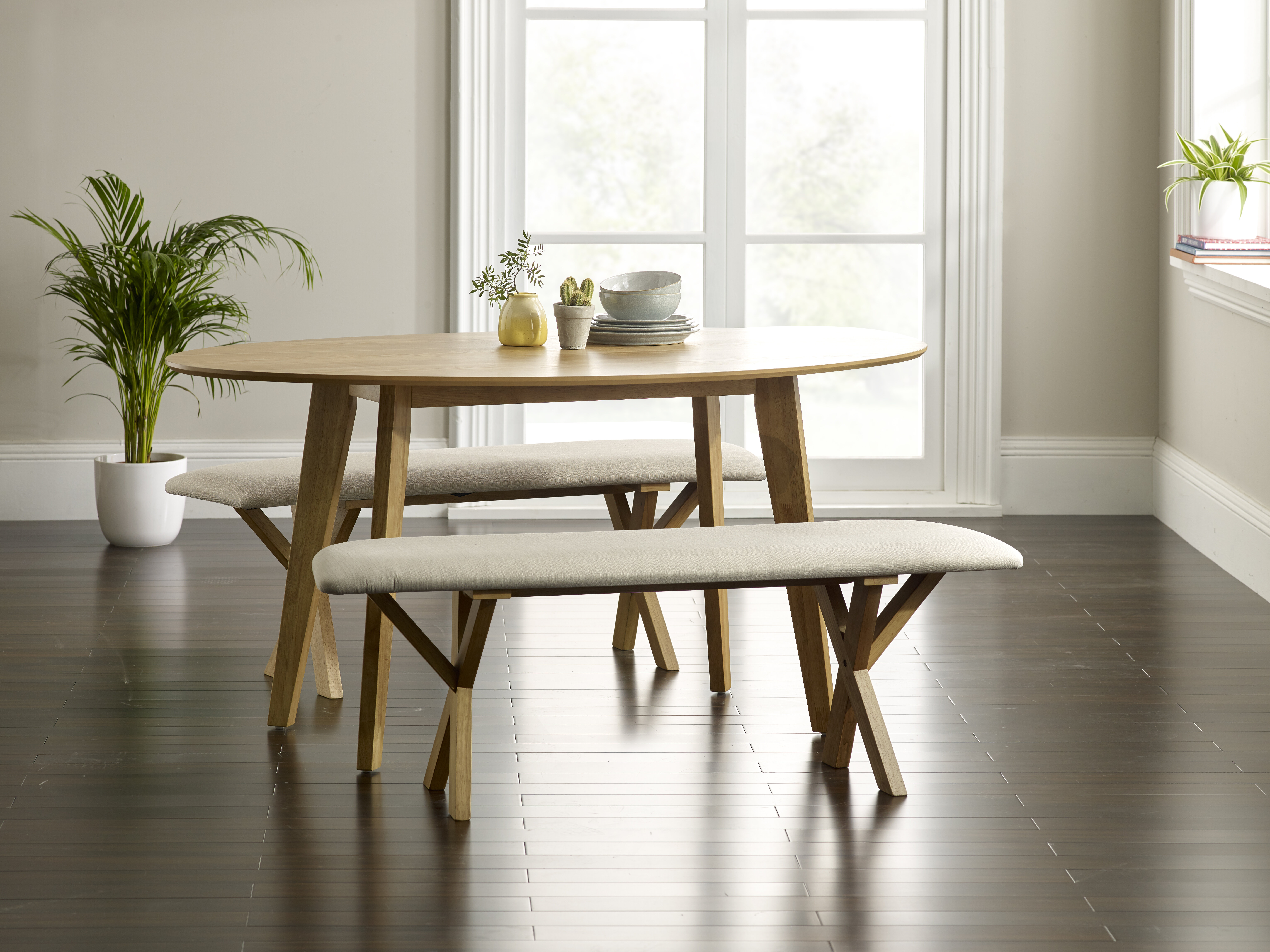 Peachy Macy Dining Set With 2 Benches Pdpeps Interior Chair Design Pdpepsorg