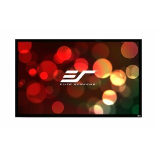 ezFrame White Fixed Frame Projection Screen