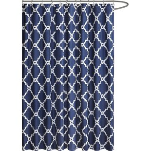 Slate Blue Shower Curtain