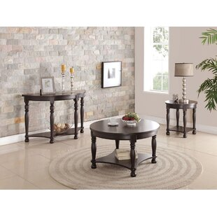 Denni 3 Piece Coffee Table Set by A&J Homes Studio