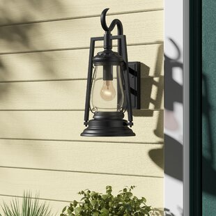 Lynda 1-Light Outdoor Wall Lantern by Fleur De Lis Living