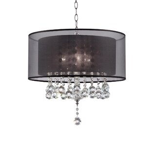 Mercer41 Rienne 3-Light Drum Chandelier