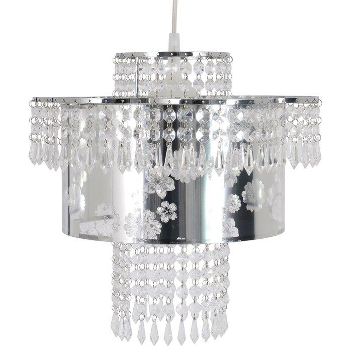 Merlin 1 Light Crystal Pendant