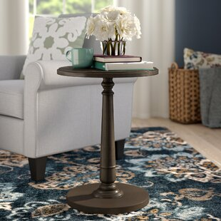 Bargain Calabria End Table By Charlton Home