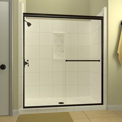 Leser 60 X 7038 Bypass Semi Frameless Shower Door Arizona