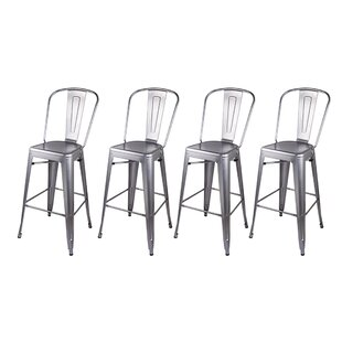 Purchase Eddie 30 Bar Stool (Set of 4) by 17 Stories Reviews (2019) & Buyer's Guide