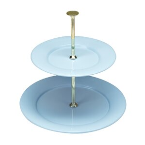 vento 2 tier serving tray