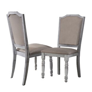 Elsa Upholstered Dining Chair (Set of 2) Ophelia & Co.