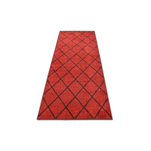 Pell Tufted Red Rug Latitude Run Rug Size: Runner 80 x 800cm