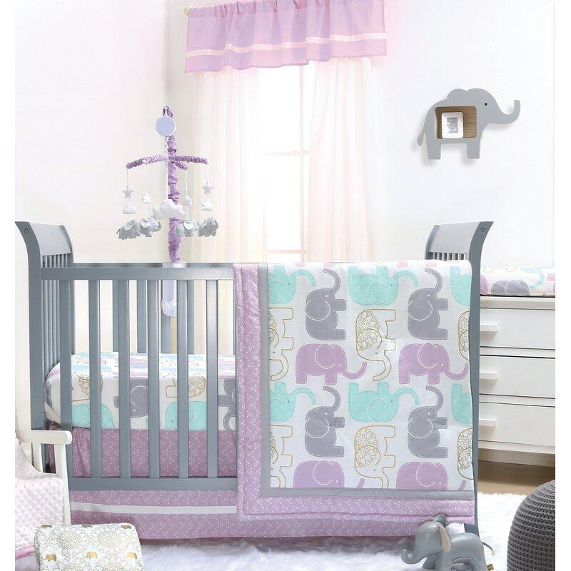 Little Peanut 6 Piece Crib Bedding Set