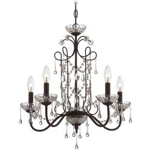 Astoria Grand Mclaurin 5-Light Chandelier