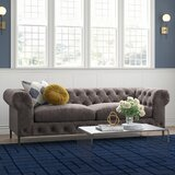 Izzie Chesterfield Sofa by Everly Quinn