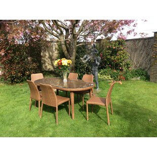 Worksop 6 Seater Dining Set By Sol 72 Outdoor