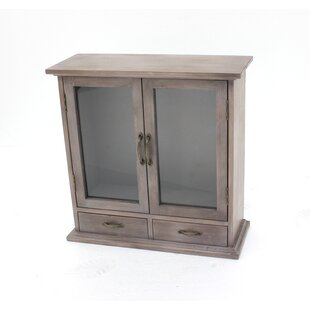 Wood Wall Accent Cabinet by Te..