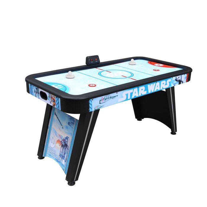 Star Wars Battle Of Hoth 60 Two Player Air Hockey Table With Digital Scoreboard