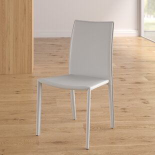 Wade Logan Meade Upholstered Dining Chair (Set of 4)