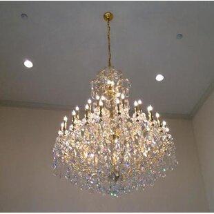 Kiazolu 49-Light Candle Style Chandelier by Astoria Grand