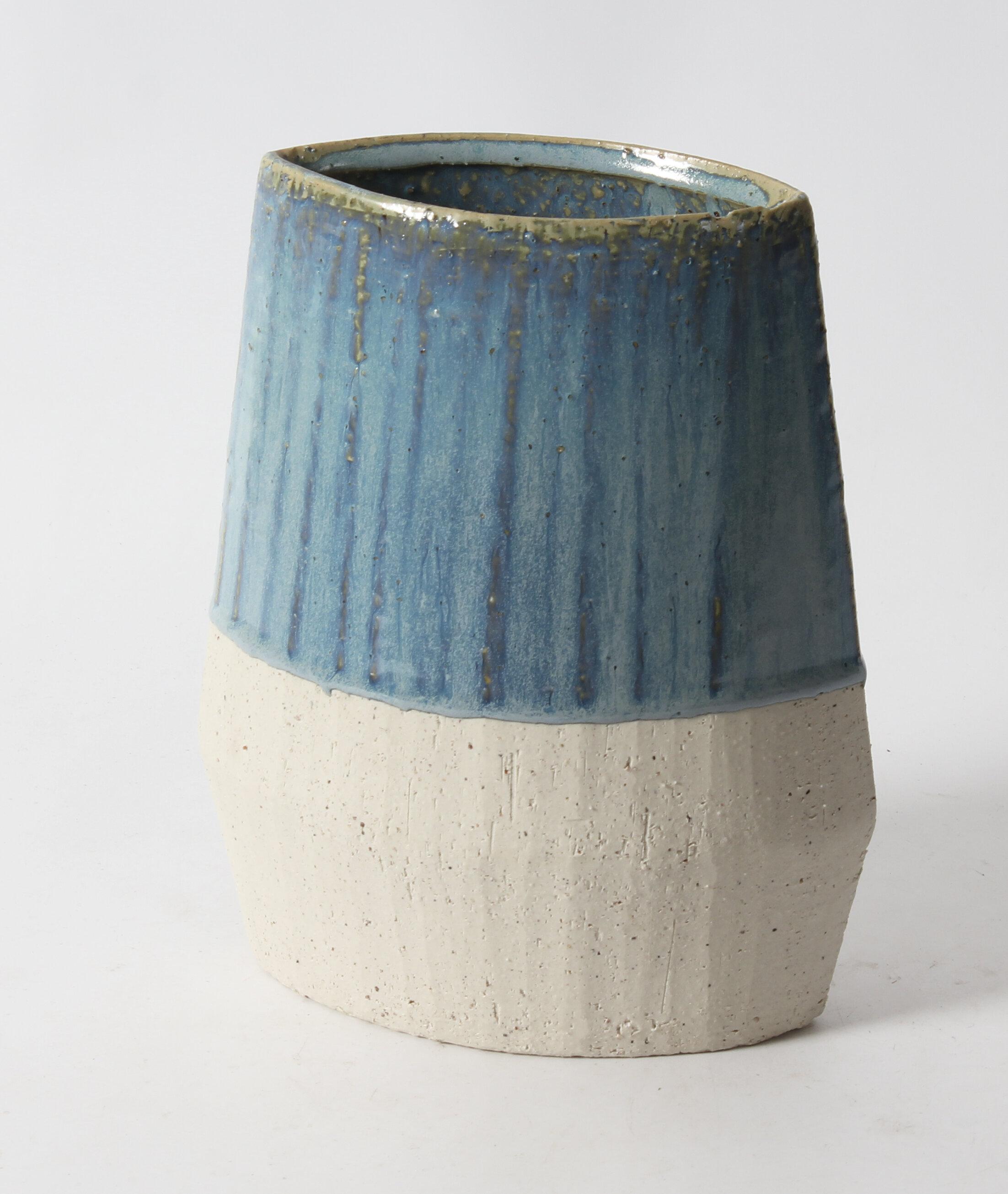 Highland Dunes Newman Geometric Short Flat Table Vase Wayfair