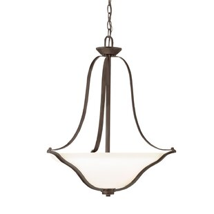 Alcott Hill Avilla 3-Light Bowl Pendant