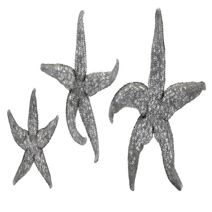 3 Piece Starfish Wall Décor Set