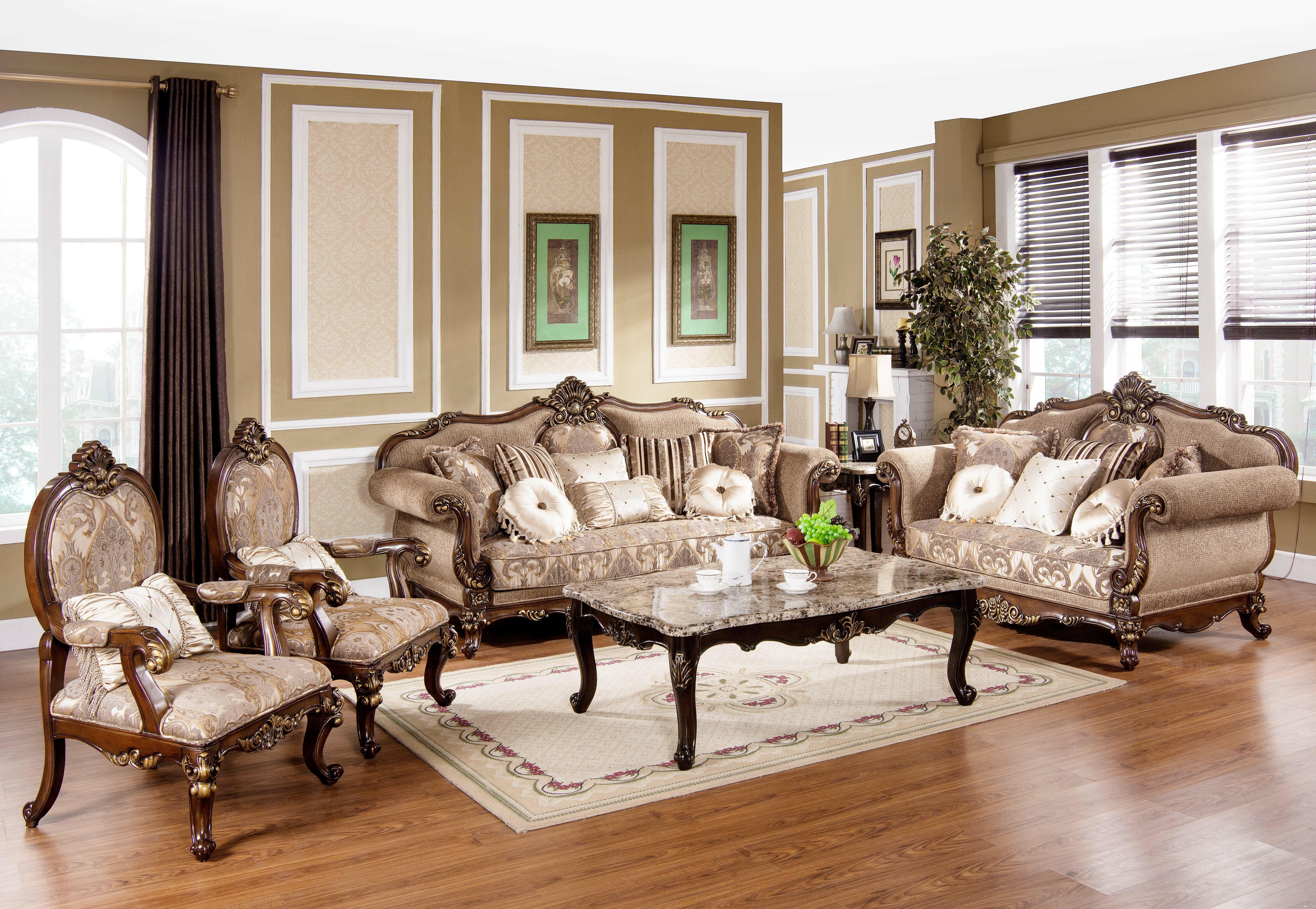 Encinas 3 Piece Living Room Set