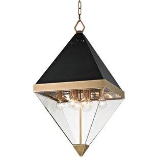 Willa Arlo Interiors Rosato 8-Light Geometric Pendant