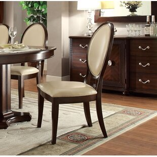 Yearwood Upholstered Dining Chair (Set of 2) by Alcott Hill
