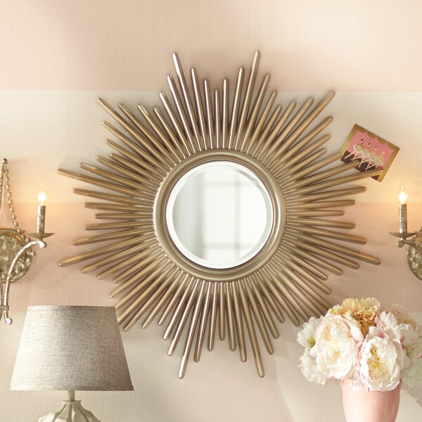 Sunburst Wall Mirror willa arlo interiors josephson modern sunburst wall mirror
